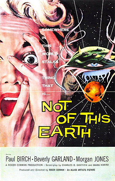 Not of This Earth (1957) poster