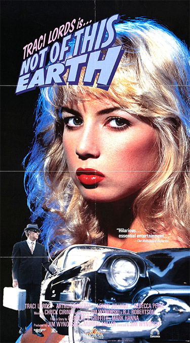 Not of This Earth (1988) poster